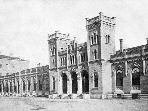 Gare centrale de Linz, lieu choisi par Hitler pour devenir son musée du III Reich