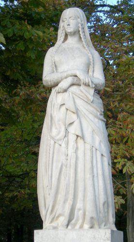 Ste genevi ve au jardin du luxembourg parisbym for Au jardin du luxembourg