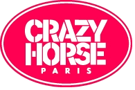 Logo Crazy Horse, fond transparent