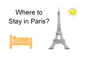 Top areas where you can find an hotel or accommodation in Paris. Review ParisByM's tip on where you should stay in Paris. The main districts are introduced with all the pros and cons.