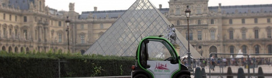 Go Self Tour, discover Paris while driving