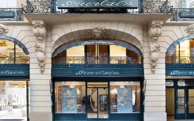 Guerlain parent shop on the Avenue des Champs Elysées in Paris, scene of the beauty class