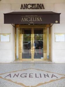 Angelina tea shops in Paris