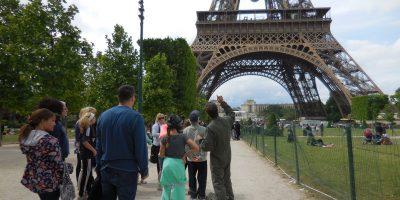 Visite guidée de la Tour Eiffel, billets coupe file