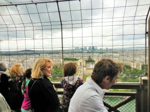 Toureiffel, behind, scenes, Eiffeltower tours