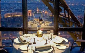 Paris, le Jules Verne, Tour Eiffel, romantic places in paris, paris group