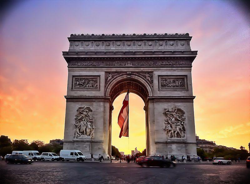 One day Tour of Paris, What to See in Paris in 5 Days, Arc De Triomphe, Can't-Miss, Paris Attractions, Paris, Vacation Packages, Holidays, All-Inclusive, 3 days in Paris, Planning Your Trip, Must-See Attractions