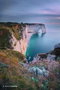 Normandy, Cliffs, Daytour, France, etretat