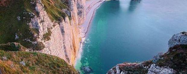 Normandy, Cliffs, Daytour, France, etretat
