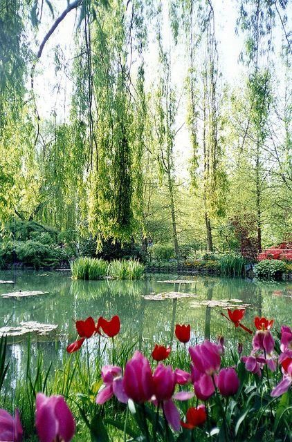 Monet, Garden, France, Normandy, Giverny