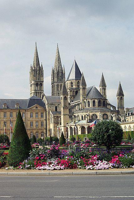 Normandy, Caen, Castle, France, Daytrip