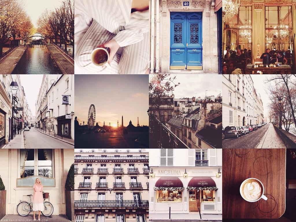 Instagram, Parisinfourmonths