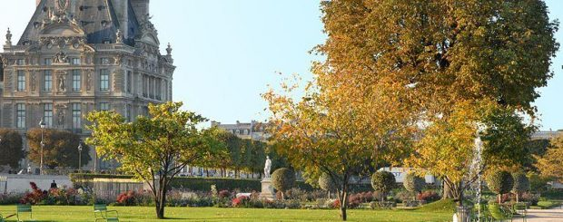 Jogging in Paris, Jardin des Tuileries, amusement parks in Paris