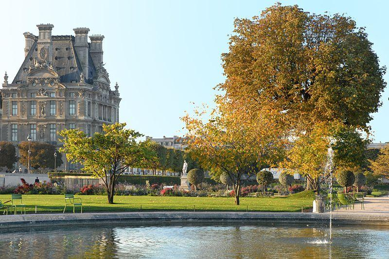 Mus e du louvre what to do what to see parisbym - Plan detaille du jardin des tuileries ...