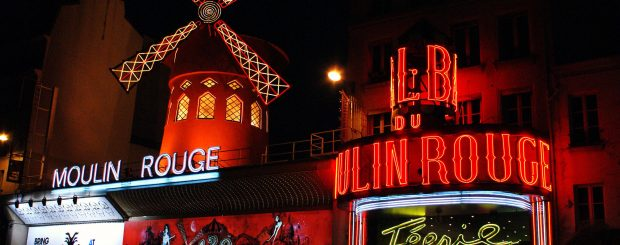 Moulin Rouge Paris, Cabaret Performance At The Moulin Rouge!