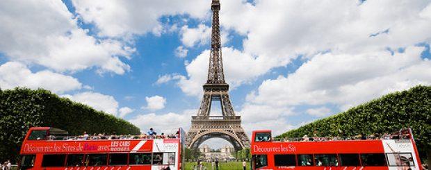 Paris Bus Tour