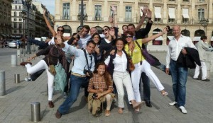 Paris guided tours, paris group