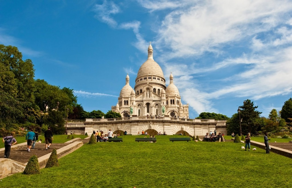 touristic places in Paris