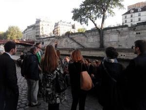 Seine river walking tour