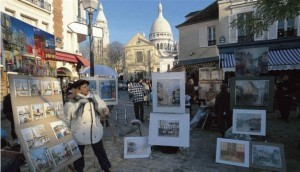 montmartre tour, best area to stay in Paris