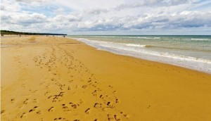 5 beaches of Normandy
