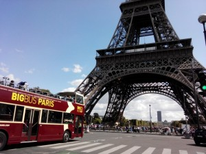 Paris Eiffel tower, Paris Bus Tour, City Bus Tour