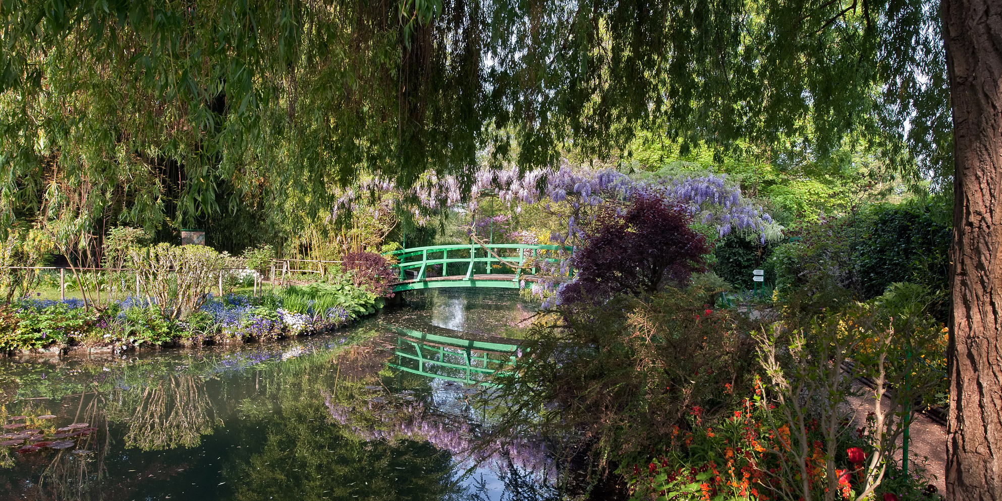 Plan your visit at the foundation giverny monet parisbym for Jardin france