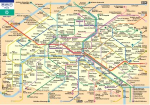 Paris, metro, transportation, school trips to Paris