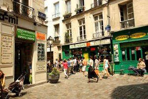 Self-Guided walking tour, le marais
