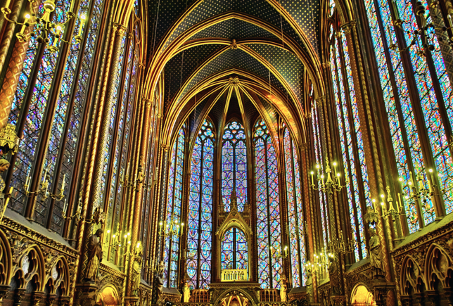 Sainte Chapelle, beautiful places in Paris to visit