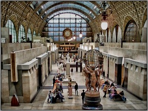 orsay museum, 1 day in Paris