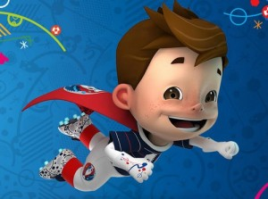 UEFA Euro 2016 mascot, Super Victor