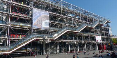 Marais, the centre pompidou