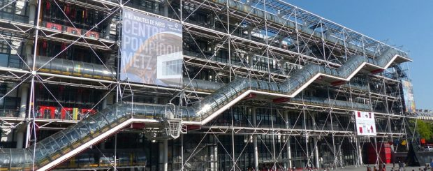 Marais, the centre pompidou, Paris museum list