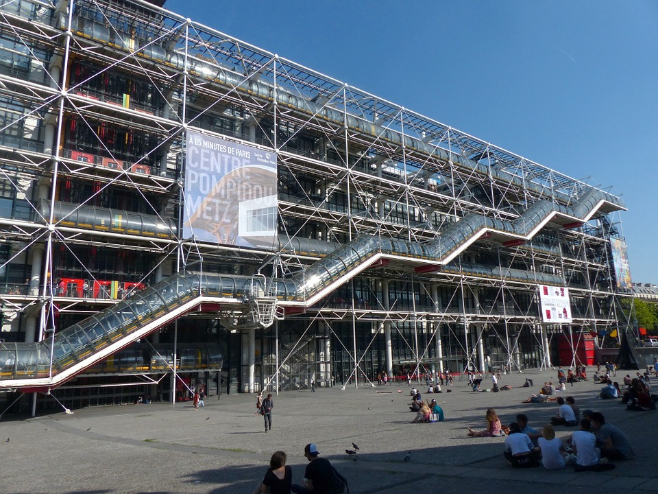 the centre pompidou parisbym