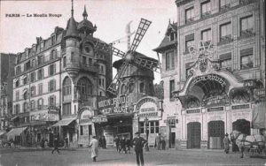 Cabaret Performance At The Moulin Rouge