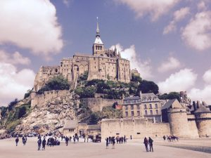 Mont St. Michel, student tours to france