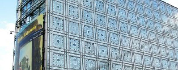 The Institut du monde Arabe in Paris
