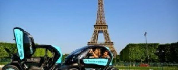Twiztour, Fun Electric Twizy Car Tour in Paris!