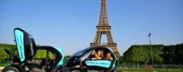 Twizy, la voiture électrique qui vous guide à Paris !