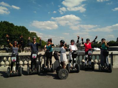 Paris Segway Tours, team building in Paris