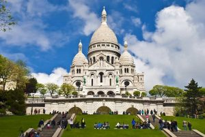 Sacré Coeur in Montmartre, Weekend trip Paris, places of interest paris
