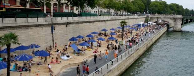 Summer activities in Paris
