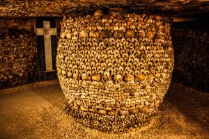 Halloween Paris 2016, the catacombs
