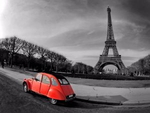 2cv, paris in 2 days, paris off the beaten path, day trip from london to paris