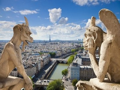 Gargoyles, School trips to Paris