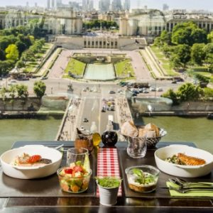Lunch in the Eiffel Tower, Eiffel Tower Information