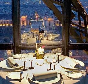 Dinner in the Eiffel Tower