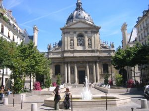 Sorbonne university, Quartier Latin, self-guided walking tour