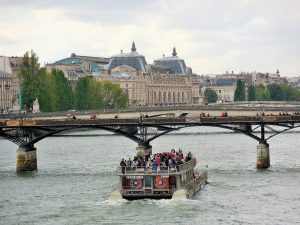 Seine river cruise